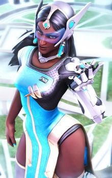 Symmetra by Its-Midnight-Reaper