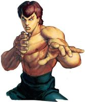 Street Fighter X Fatal Fury~Fei-Long Bio and quote by JohnnyOTGS