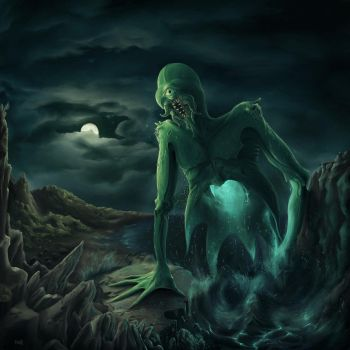Some kind of Cthulhu by dante-cg
