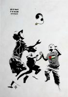 palestine no ball games by kakhunwart