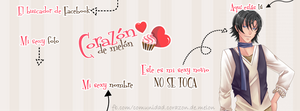 Facebook Cover #12 ~ Amour Sucre - Armin by MichelleMegurine