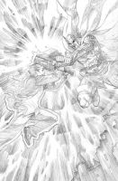 Prince of Power 2 3 pencils by ReillyBrown