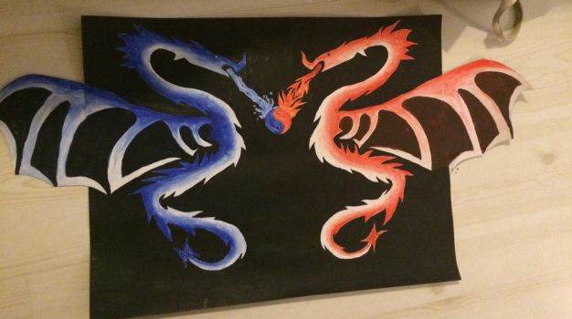 Dragons by GKleian