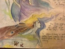 Mother Nature water painting by TheSilentArtist2225