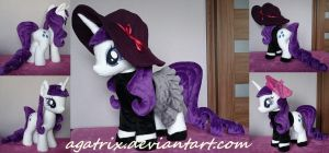 Beatnik Rarity plush by agatrix
