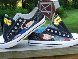 Beavis and Butt-head Shoes by ChumpShoes
