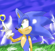 sonic and the storm by wallacexteam