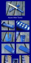 Azure Mist Tanto by piratecaptain