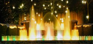 Golden Fountains by NullCoding