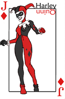 Harley Quinn Card by misha0136