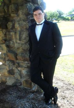 me in a tux by FMADragonboy