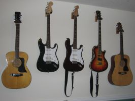 Guitar Stock by iguanadongreenStock