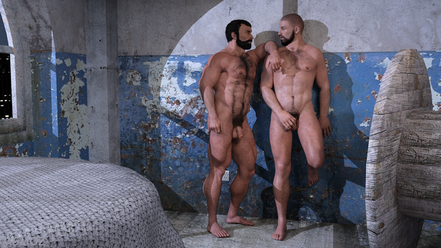 Naked Bears by MGMOZ