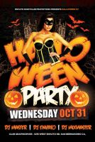 Halloween PSD Flyer by Industrykidz