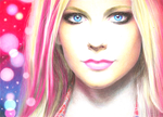 Avril in Technicolor by JairoxD