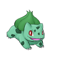 Bulbasaur by Rabid-Fangirl212