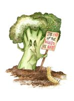 The Broccoli of Doom by pebblepixie