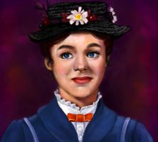 Mary Poppins by StarryPainter