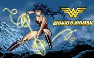 Wonder Woman 2013 by wayner8088