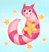 Shiny Furret by Elieda