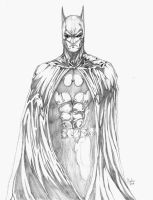 Batman pencil(2013) by Schwoodz