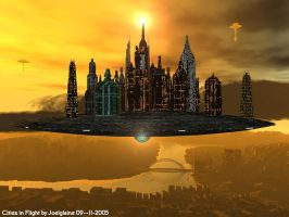 Floating City 64 by Joelglaine