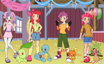 Pokemon Trainers CMC by SelenaEde