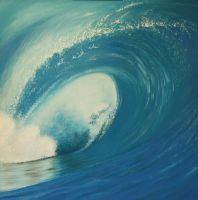 Surf - Fine Art by Jodi-B