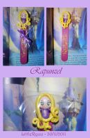 Disney Rapunzel bookmarks by Libellulina