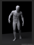 ZBrush classical male figure by AlexanderLee1