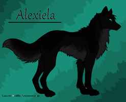 Alexiela as a wolf by Spotted73