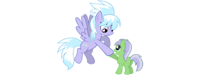 Cloudchaser and Mintleaf by Atmospark