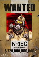 WANTED: KRIEG THE PSYCHO BANDIT by Dusk-728