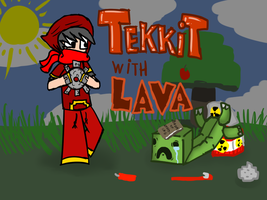 Tekkit with Lava (pic for non-existent series) by lava1o