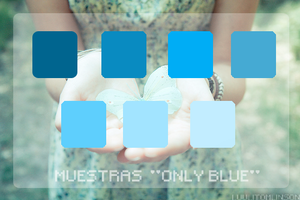 Muestras Only Blue by LuuliTomlinson