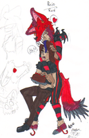 Rojo- Red the Wolf by CaliforniaSigma