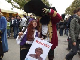 Elaine and LeChuck by UndiciSmaug