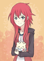 With mah Togepi by Erin-Chan143