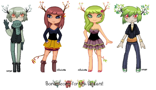 Seasons Adopts - Rologle Collab [closed] by Sergle