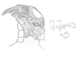Turian Sketch (III) by Rostov-na-don