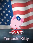 All American Tentacle Kitty by TentacleKitty