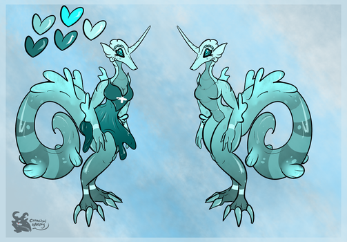 Seahorse Savior (Sold) by CannibalHarpy