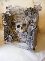 Bio Mechanical Skull by skull22