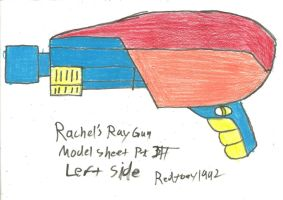 Rachel's Ray Gun Model Sheet Part 3 by RedJoey1992
