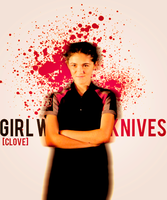+Girl With the Knives (THG:Clove) by justadistrict12girl