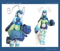 Kahinakuya Stomo Puppet - CU by Lithe-Fider