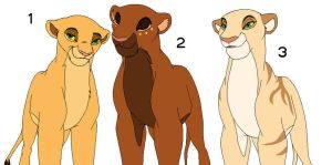 Lioness Adopts SOLD by sarahsunflower12