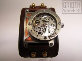 Steampunk Watch By Grioth - The I-RON 002 by GRIOTH