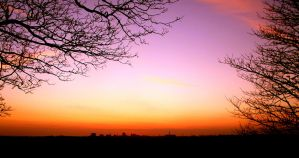 Sunset over Preston 1 by RobbyRobRob241
