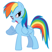 Rainbow Dash - The One and Only! by Saphyl